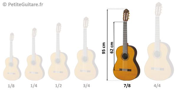 guitare 7/8 taille