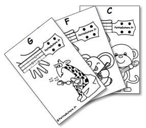 Accords ukulele Enfant
