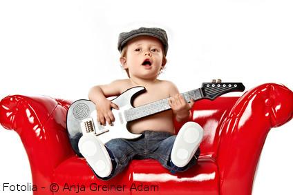 guitarra de bebe