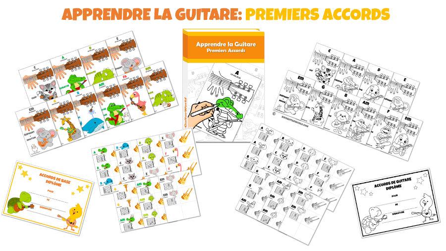 apprendre guitare enfant
