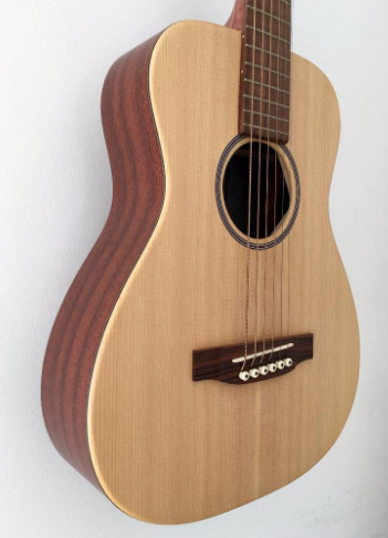 guitare acoustique folk 3/4
