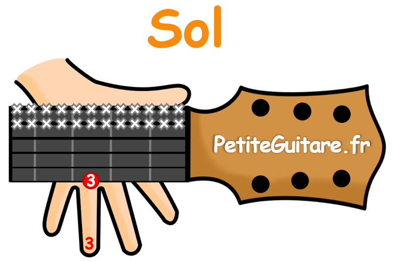 guitare accord sol facile