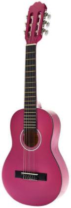 startone guitare enfant rose