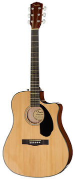 fender cd-60sce guitare